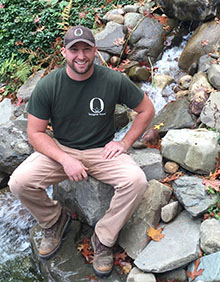 David VanLoon of Oasis Ponds & Patios, a Corning SBDC Success Story